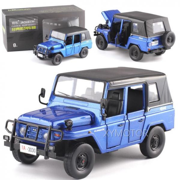 1/32 jackiekim beijing jeep off-road 2020 diecast car