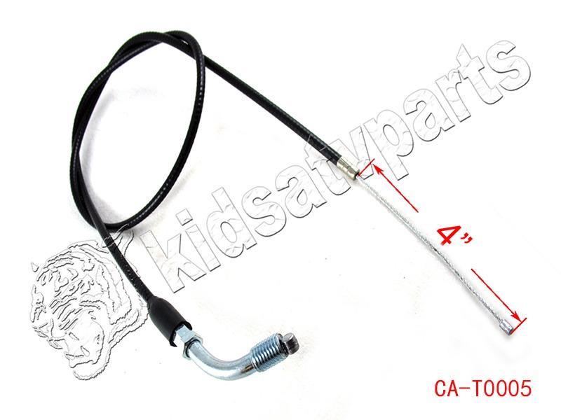Curve Throttle Cable Dirt Pit Bike 70 90 110 125cc Honda