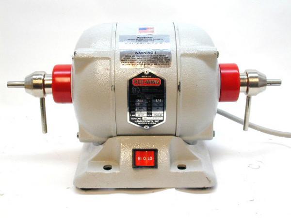 Handler Red Wing Dental Lathe Lab Motor Bench Polisher