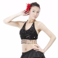Sequined Belly Dance Costume Bra Top BH Dancing Apparel Clothing UK Seller New