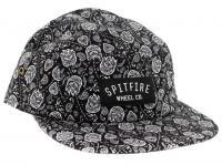 Spitfire Wheels CLASSIC BIGHEAD PATCH UNSTRUCTURED Snapback Skateboard Hat BLACK