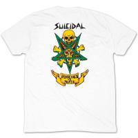 Dogtown X Suicidal Tendencies DTST EAT SH#T Skateboard T Shirt WHITE XL