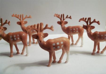 Deer Cake Toppers Deer Cupcake Toppers Amp Buck Picks
