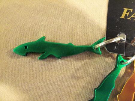 12 shark luau keychains party favor beach ocean jaws bottle opener baby shower ebay. Black Bedroom Furniture Sets. Home Design Ideas