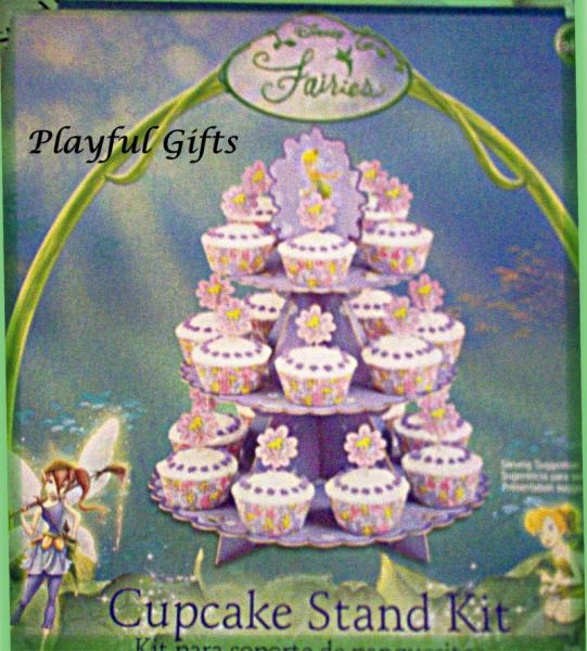 Tinkerbell Cupcake Stand Kit