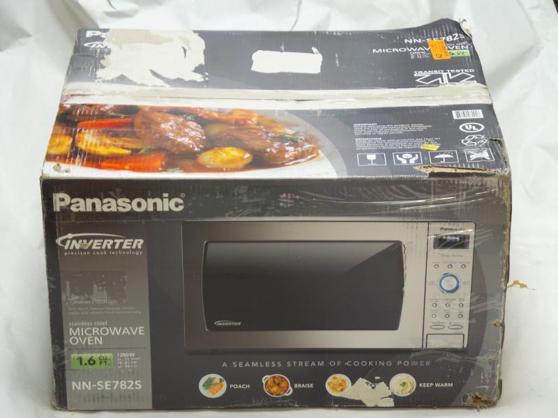 panasonic genius sensor 1250w microwave manual