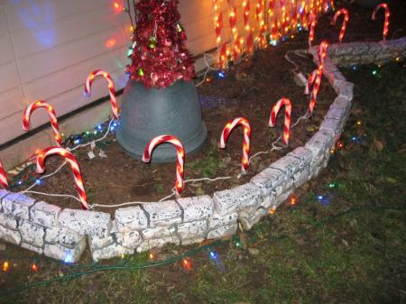 Big Lots Candy Cane Path Lights 8 ct. Outdoor Christmas Decoration