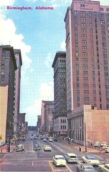 Buy Here Pay Here Birmingham Al >> Birmingham AL 20th Street North Business District Old Cars ...