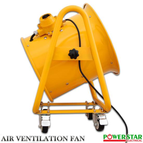 Portable Ventilation Fan With Ducting : Atex portable ventilator axial fan ducting blower metal