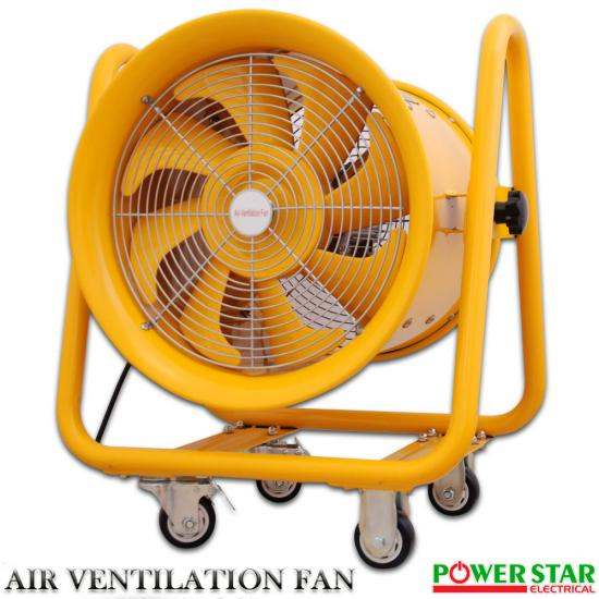 Explosion Proof Blowers : Atex portable ventilator axial blower extractor fan