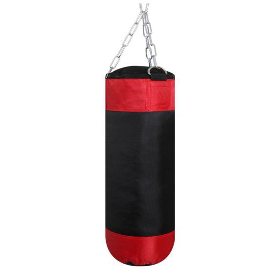 Hth Kids 2 5ft Filled Punch Bag Set Boxing Gloves Kick