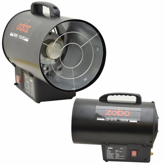 Propane Powered Blower : Commercial industrial propane gas forced space heaters