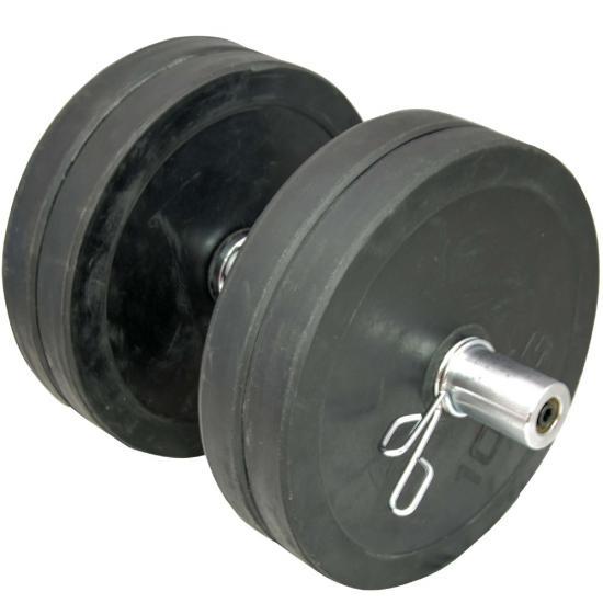 20 Olympic 2 Dumbbell Bars Amp Spring Collars Set Gym