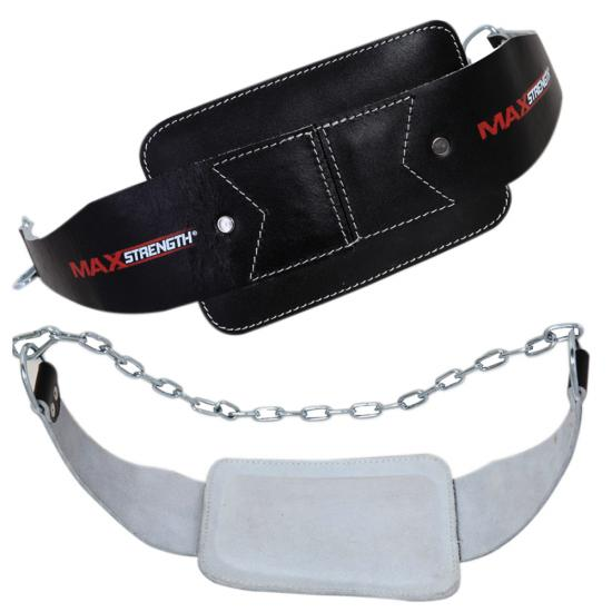 maxstrength leather dipping belt building weight dip