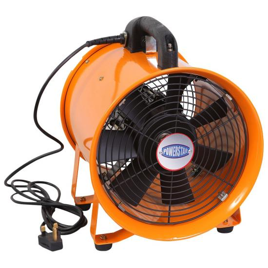 Duct Blower Fan : Pvc flexible duct industrial portable ventilator extractor