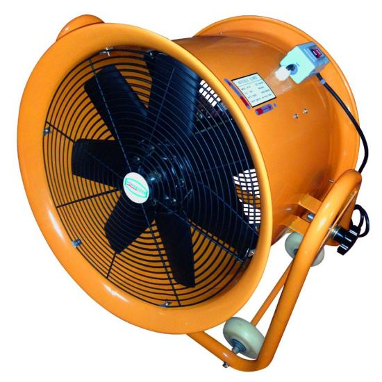 20 Axial Fan : Portable ventilator axial blower workshop extractor fan