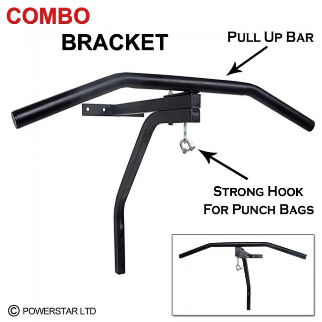 Chin Pull Up Bar Kick Boxing Mma Punch Bag Hanging Bracket