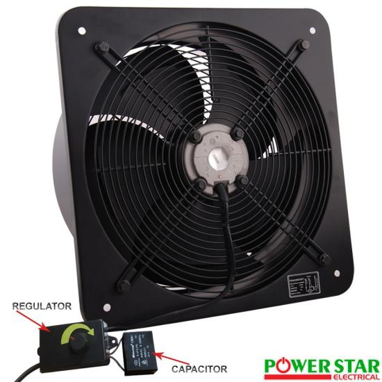Large Industrial Exhaust Fans : Industrial ventilation extractor metal axial exhaust