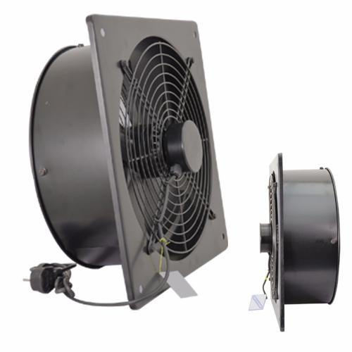 Commercial Ventilation Fans Industrial : Metal industrial ventilation extractor axial exhaust