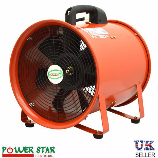 Commercial Fans Blowers : Portable ventilator industrial axial metal blower workshop