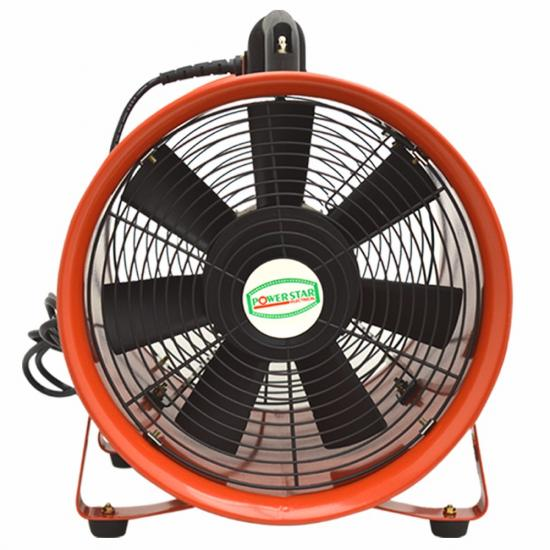 Dust Extractor Fan : Portable ventilator industrial axial metal blower workshop