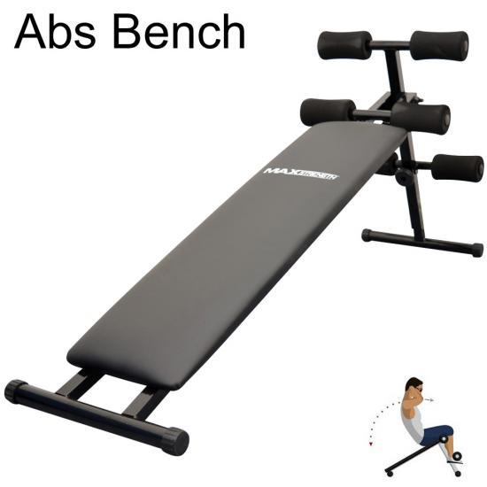 Weight lifting gym fitness training workout folding abs flat fly bench set Abs bench