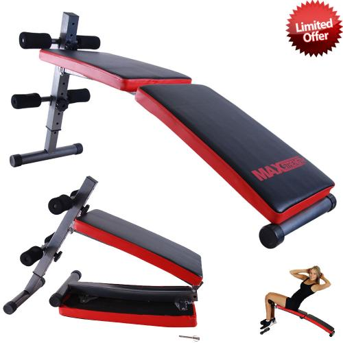Weight Lifting Gym Fitness Training Workout Folding Abs