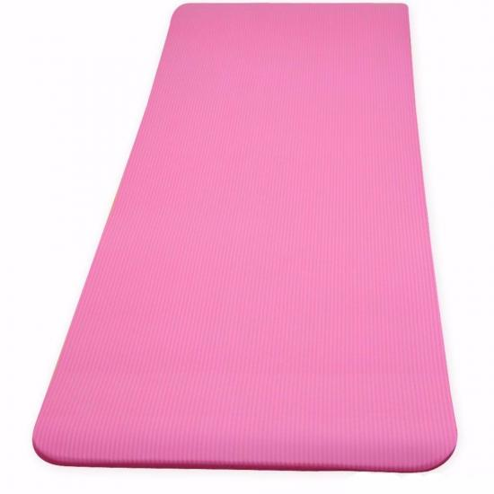 NBR 15mm Extra Thick Yoga Mat Home Fitness Exercise Non