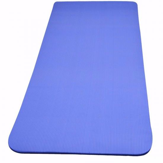 Yoga Fitness Exercise Mat Carry Straps Thick Foam Non Slip