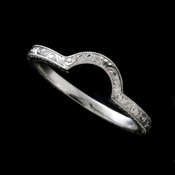 Size-6.5 Art Deco Wedding Engagement Guard Band 0.03 Carat 11 Round Diamond Solid 14K White Gold Ring