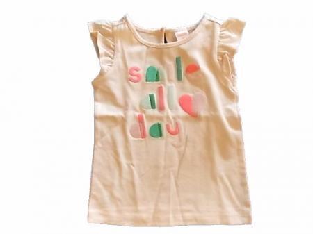 1c88b5cab90d5 NWT Girl's Gymboree Island Cruise smile shirt & green leggings pants ...