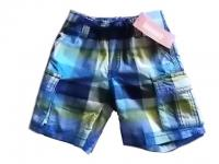 NWT Boy/'s Gymboree Island Hopper blue white striped elastic shorts ~ 4