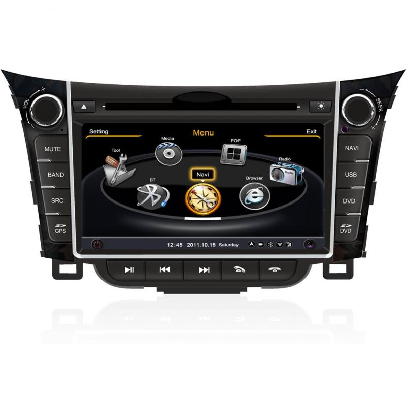 autoradio dvd gps sat navi navigation stereo headunit for. Black Bedroom Furniture Sets. Home Design Ideas