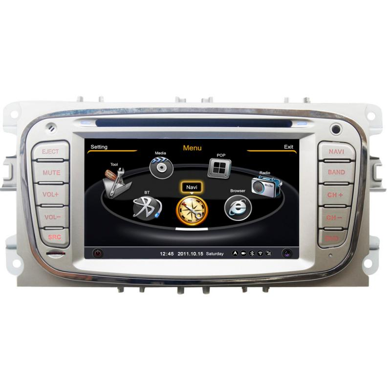 car stereo for ford focus s max mondeo galaxy kuga dvd gps. Black Bedroom Furniture Sets. Home Design Ideas