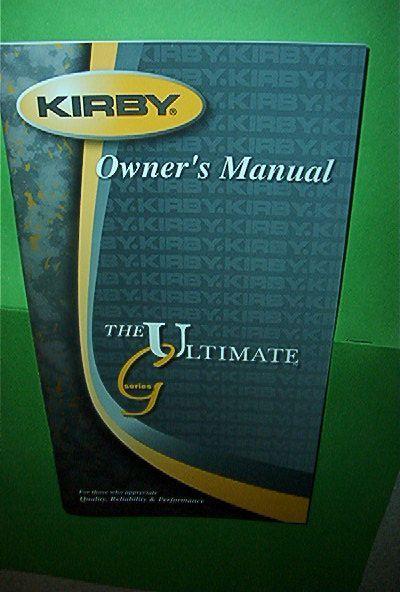 kirby sentria shampooer instructions