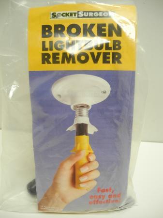 Socket Surgeon Broken Light Bulb Remover Sealed in