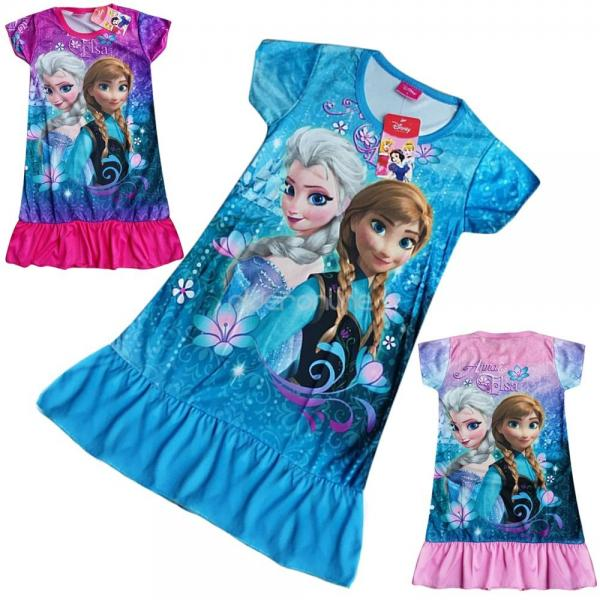 frozen eisk nigin elsa anna top tunika kleid m dchen kost m longshirt gr 98 128. Black Bedroom Furniture Sets. Home Design Ideas
