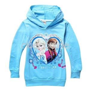 kinder m dchen eisk nigin frozen anna elsa kapuzen pullover sweatshirt hoodie ebay. Black Bedroom Furniture Sets. Home Design Ideas