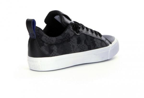 Details zu CONVERSE MEN SHOES ALL STAR FULTON CASUAL SNEAKERS BLACK BLUE CAMO LACE UP