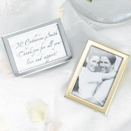 96 Easel Back Mini Photo Frames Place Card Holders Wedding Favors Free Shipping