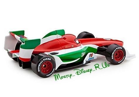 Cars 2 Diecast Francesco Bernoulli Italy Collector Case New