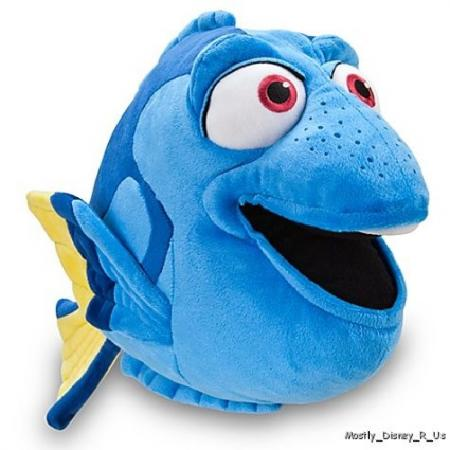 New Disney Store Pixar Finding Nemo Dory 17 Large Plush