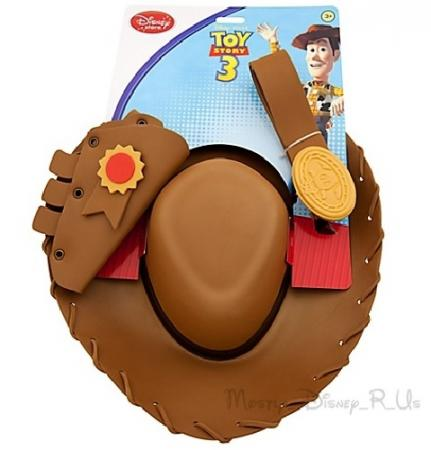 ... Disney Store Exclusive Toy Story Costume Woody Hat Belt Holster Cowboy