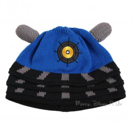 Knitting Pattern For Dalek Hat : Doctor Dr Who Blue Dalek Knit Beanie Hat New Oficially ...