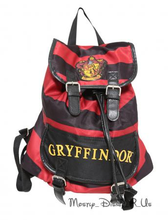 harry potter gryffindor slouch buckle bag backpack book. Black Bedroom Furniture Sets. Home Design Ideas