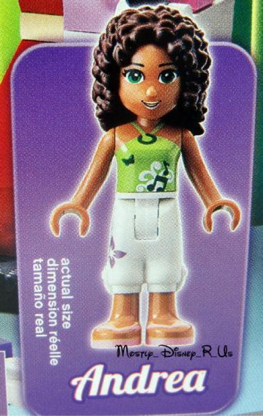 New Lego Friends Andrea Minifigure Figurine Andreas Stage 3932 87 Pcs
