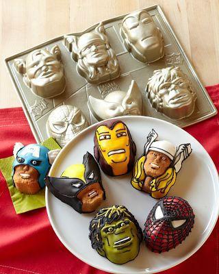 Superheroes Cake Pans