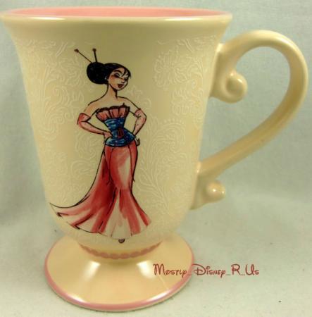 Mulan Designer Series Disney Store Princess Le Coffee Tea