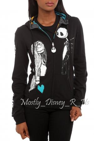 Details about Nightmare Before Christmas Eternal Love Reversible Zip ...