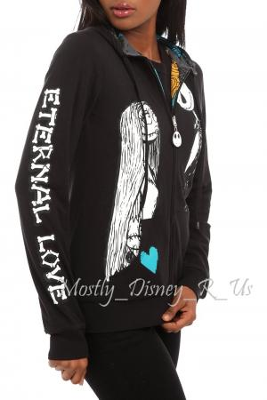 about Nightmare Before Christmas Eternal Love Reversible Zip Hoody ...